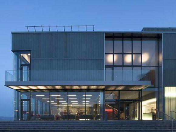 Exterior shot of The Beacon Art Centre